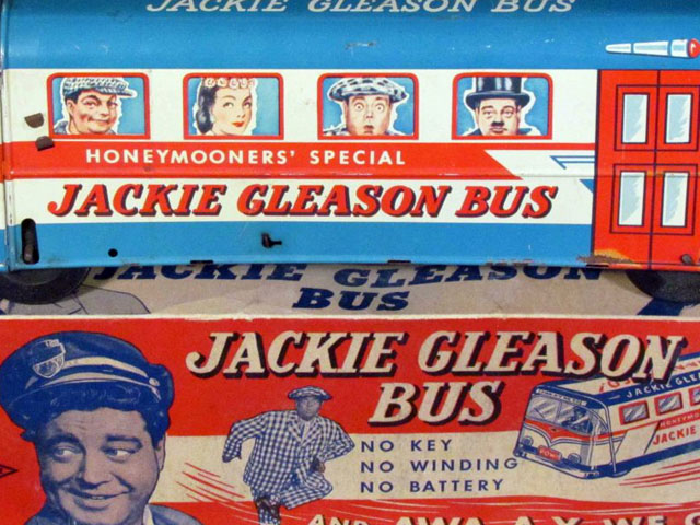 All Aboard the 1955 Honeymooners' Special Jackie Gleason Bus