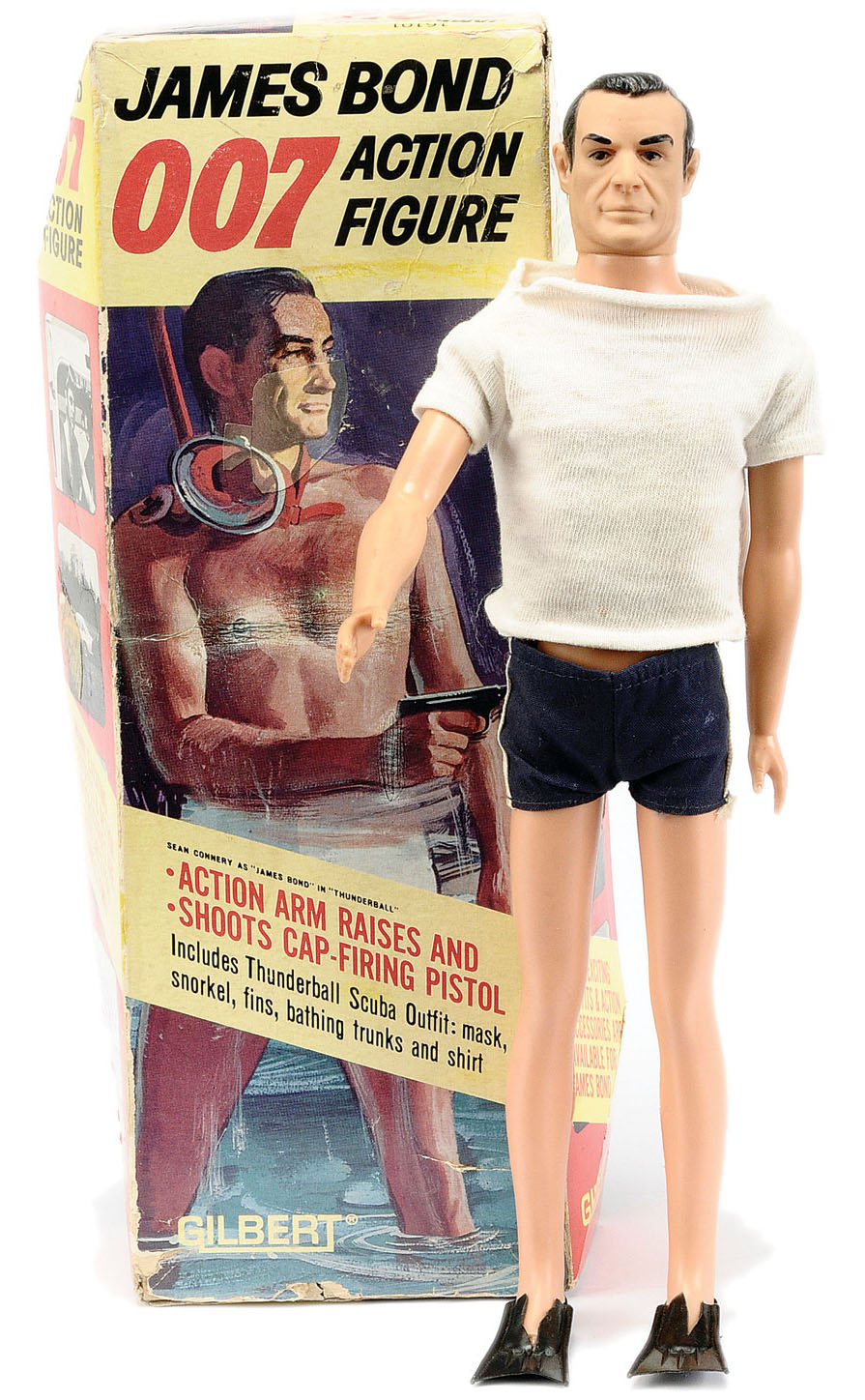 James Bond 007 Thunderball Action Figure by Gilbert