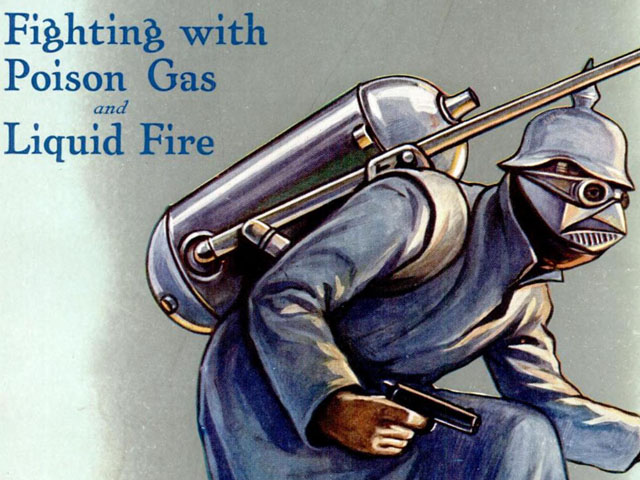 Here's a Terrifying Popular Mechanics Magazine Cover from World War I