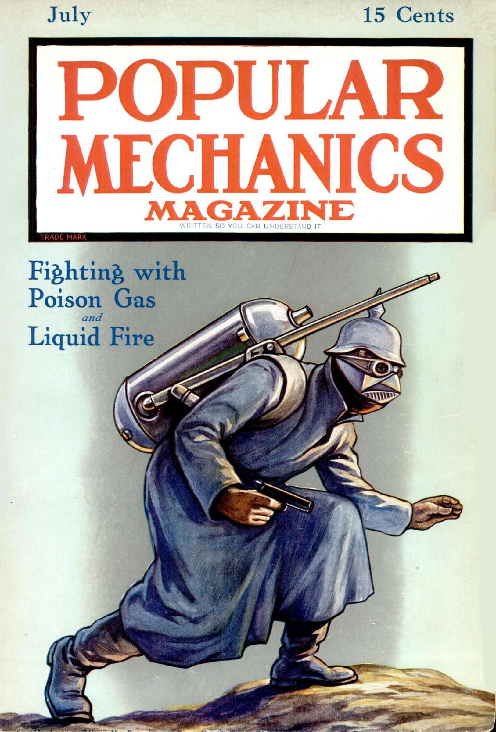 Popular Mechanics, July 1915