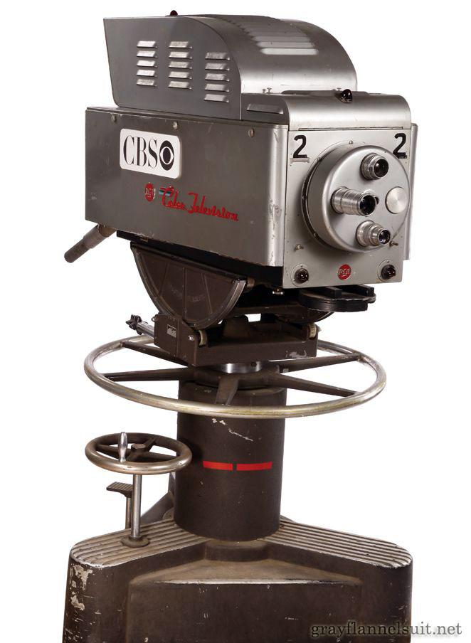 Vintage 1950s RCA Color Television Camera