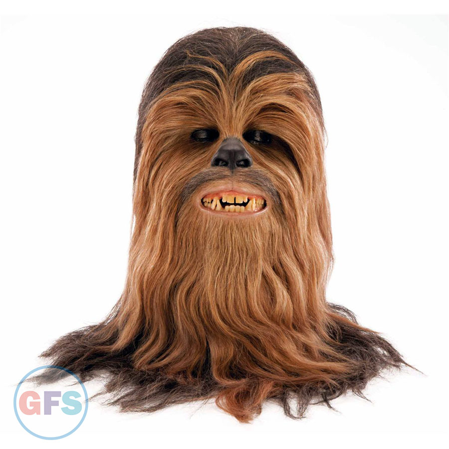 Star Wars Chewbacca mask (Peter Mayhew)