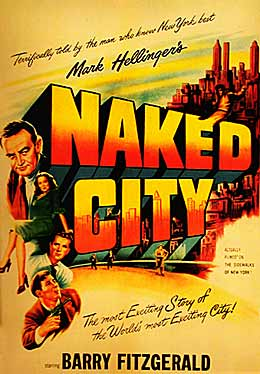 The Naked City (1948) movie poster
