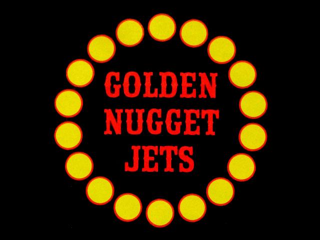 Alaska Airlines Golden Nugget Jets logo
