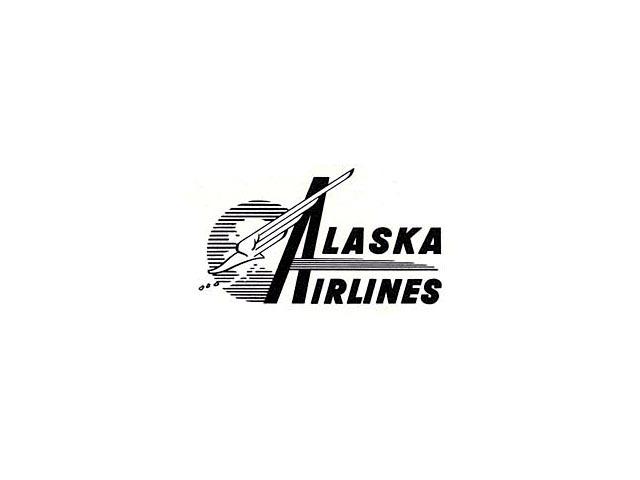 Alaska Airlines logo (1953-1956)