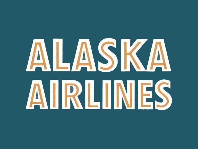 Alaska Airlines logo (1958-1960)