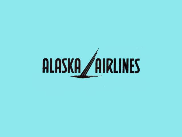 Alaska Airlines logo (1960-1966)