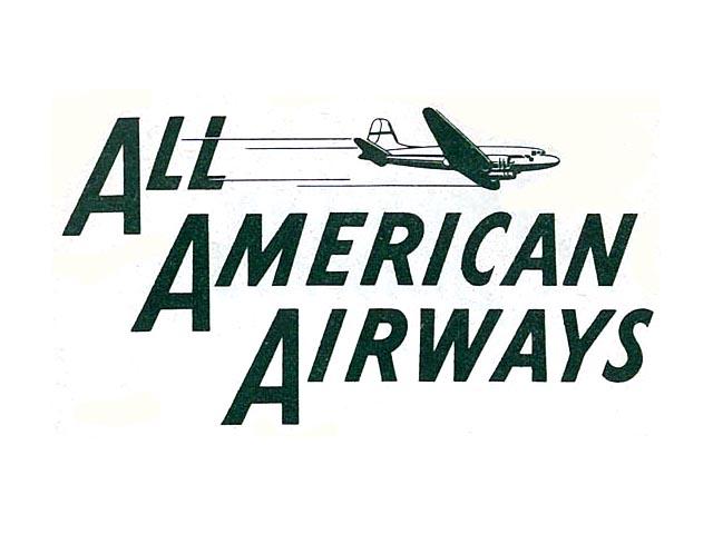 All American Airways logo (1949-1951)