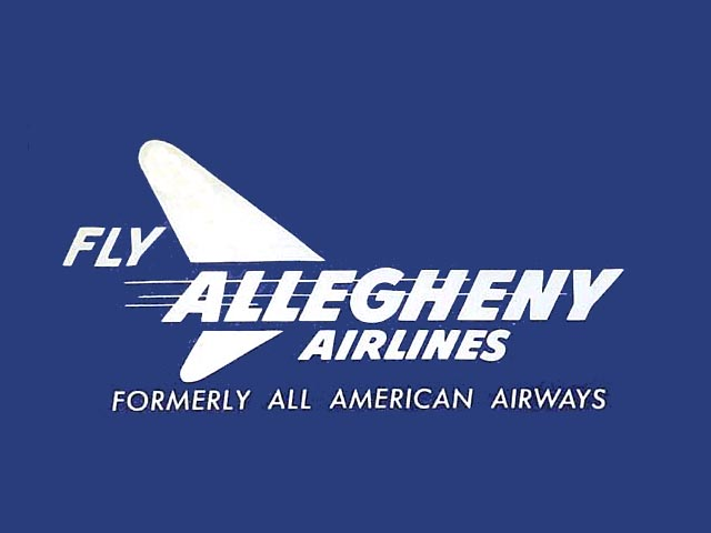 Allegheny Airlines logo (1952-1954)