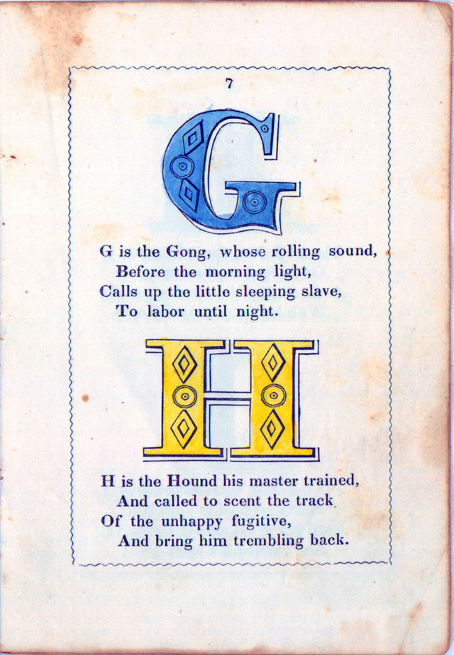 The Anti-Slavery Alphabet (1846)