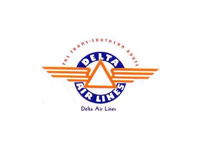 Delta Air Lines logo (1934-1951)