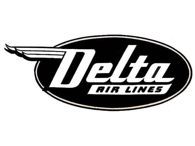 Delta Air Lines logo (1945-1953)