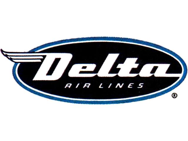 Delta Air Lines logo (1955-1959)