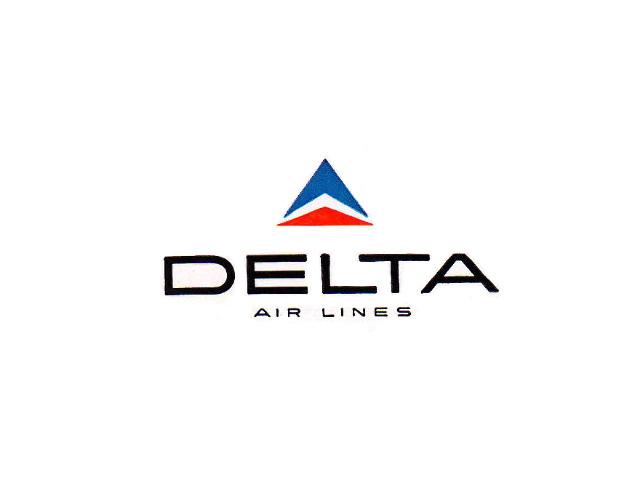 Delta Air Lines logo (1959-1970s #2)