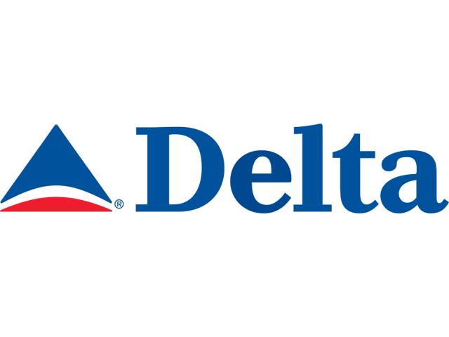 Delta Air Lines logo (2000-2004)