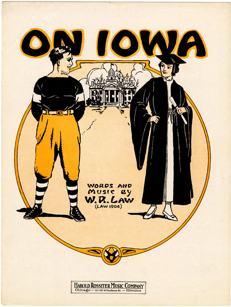 """On Iowa"" - W.R. Law, 1919"