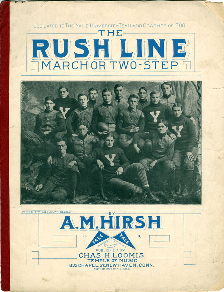 """The Rush Line"" - A.M. Hirsh, 1900"
