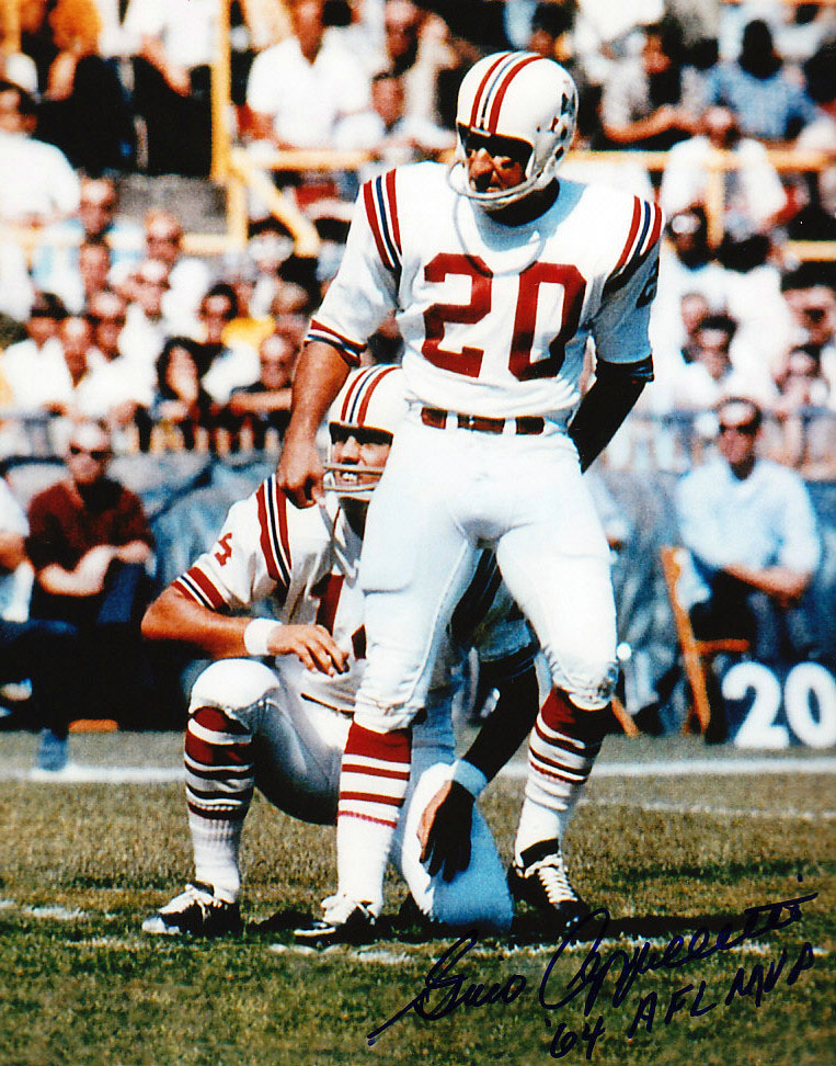 Gino Cappelletti, #20 Boston Patriots