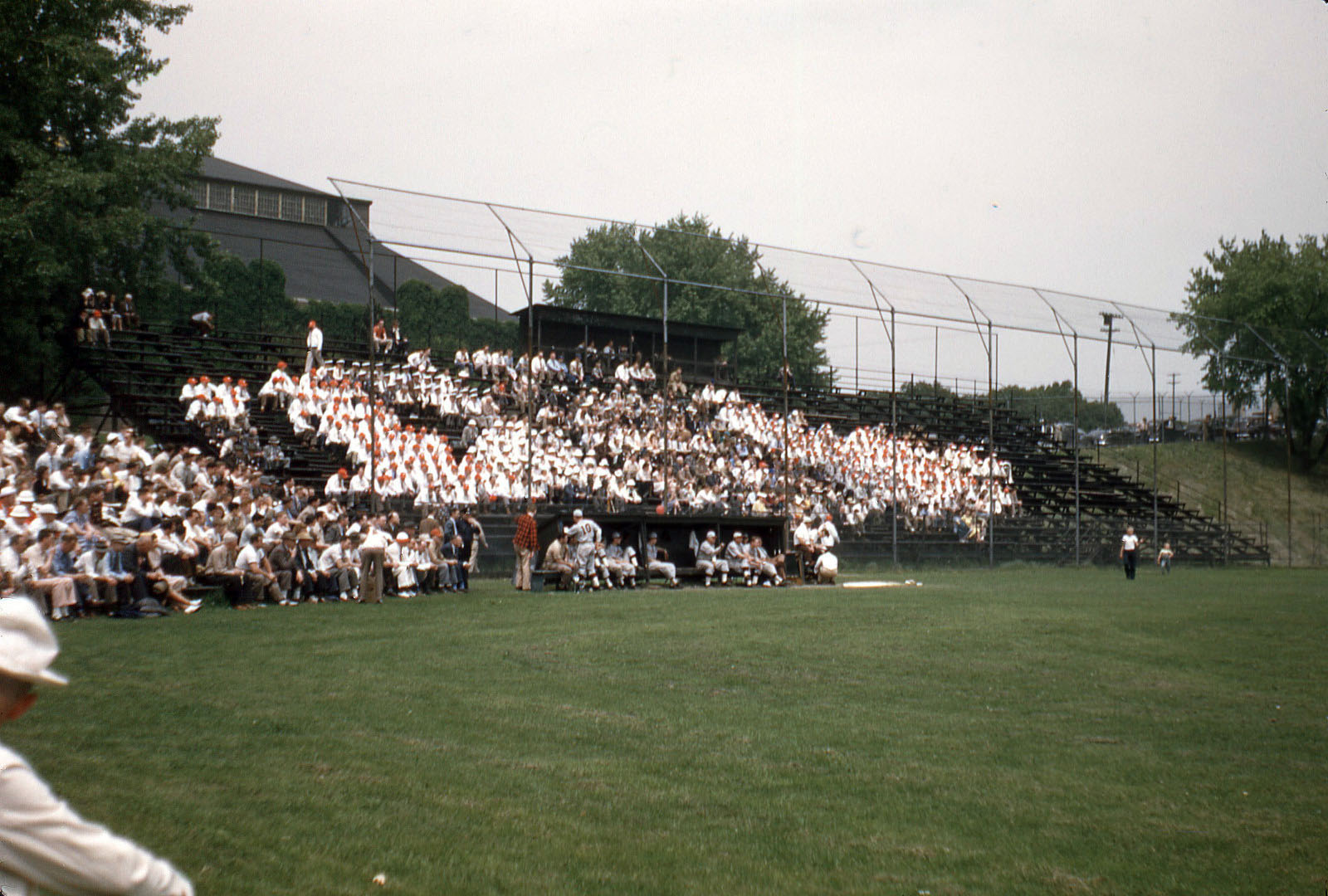 Lehigh Vs. Cornell Baseball Game, 1948