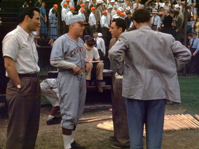Vintage Slides of a Lehigh Vs. Cornell Baseball Game, 1948