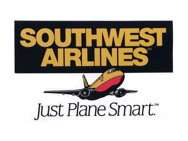 Southwest Airlines logo (1992)