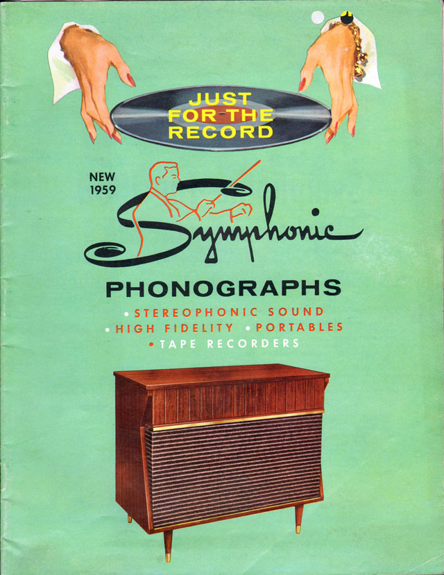 1959 Symphonic Phonographs Catalog