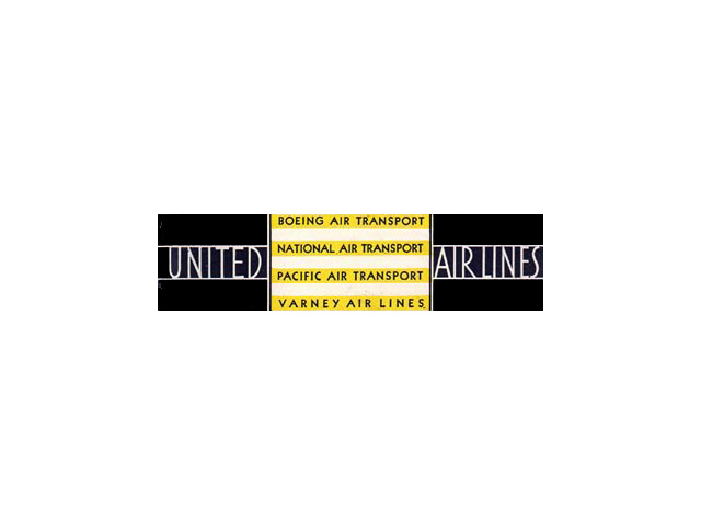 United Airlines logo (1931)
