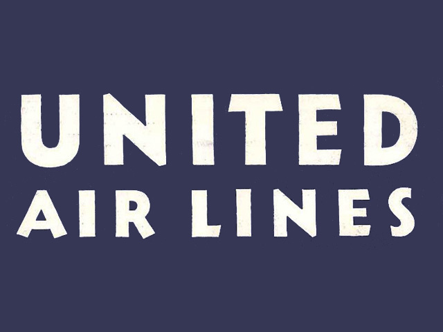 United Airlines logo (1933)