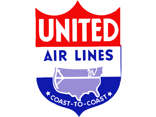 United Airlines logo (1937-1940s)