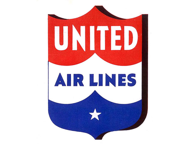 United Airlines logo (1938-1940s)