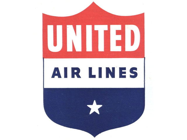 United Airlines logo (1940s-1950s)