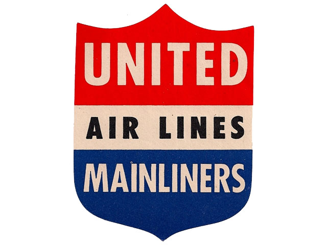 United Airlines logo (1940s)