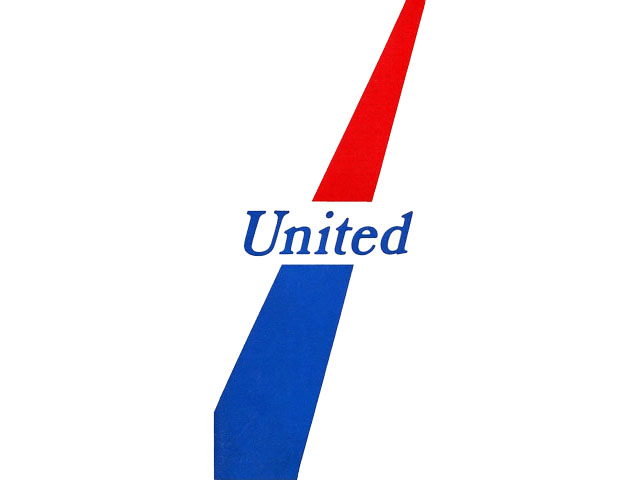 United Airlines logo (1969-1970s)