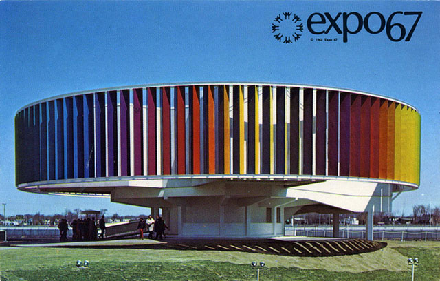 Vintage World's Fair postcard - Montreal (1967)