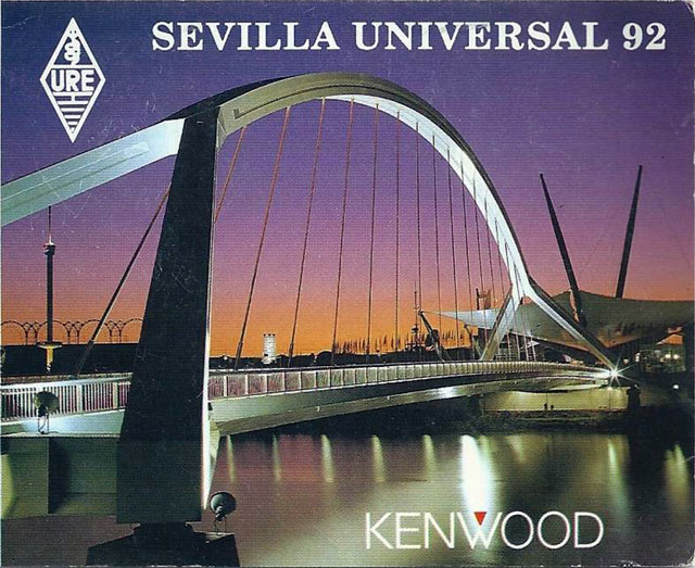 Vintage World's Fair postcard - World Expo '92 (Seville, Spain)