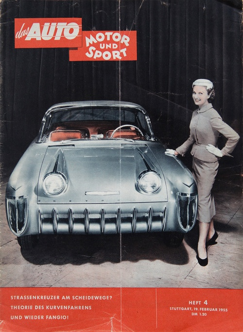 1955 Chevrolet Biscayne magazine cover