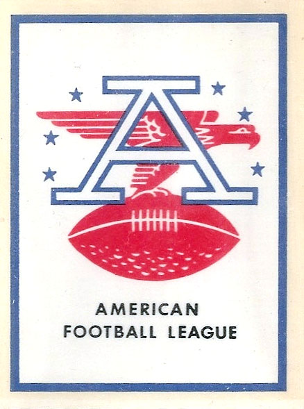 1960 AFL Team Logo Decal - AFL