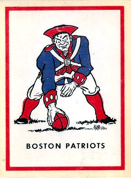 1960 AFL Team Logo Decal - Boston Patriots