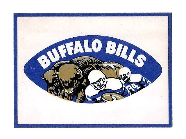 Vintage 1960 American Football League Team Logo Decals