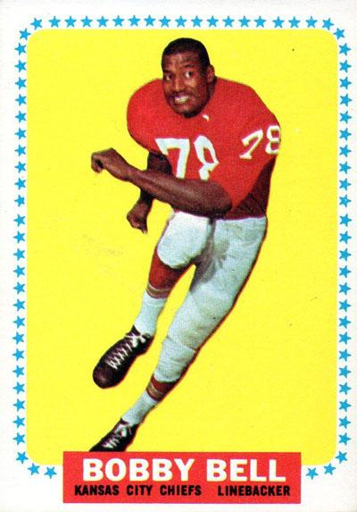 #78 -- Bobby Bell 1964 Topps
