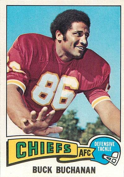 #86 -- Buck Buchanan football card
