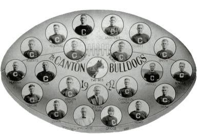 1922 Canton Bulldogs