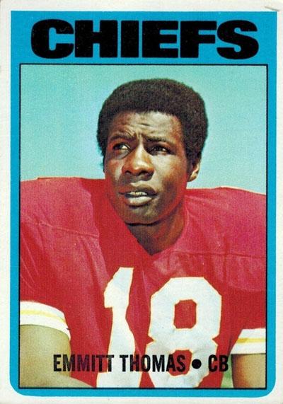 #18 -- Emmitt Thomas 1972 Topps