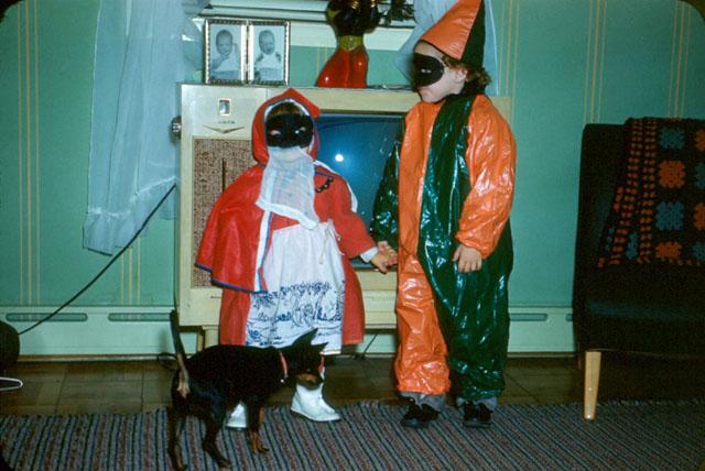 Vintage Halloween costumes (c. 1950s)