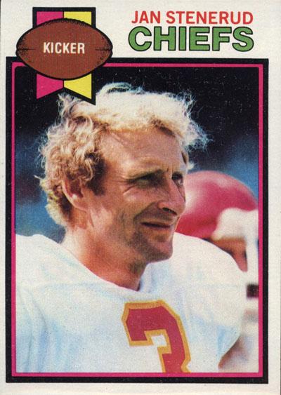 #3 -- Jan Stenerud 1979 Topps