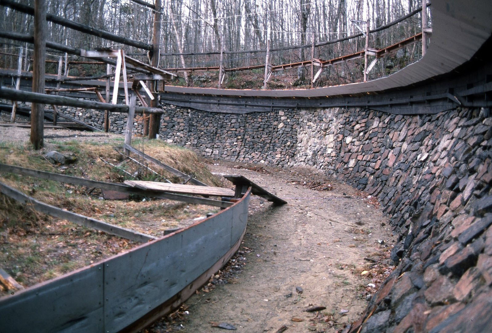 Construction for the 1980 Winter Olympics, Lake Placid, NY