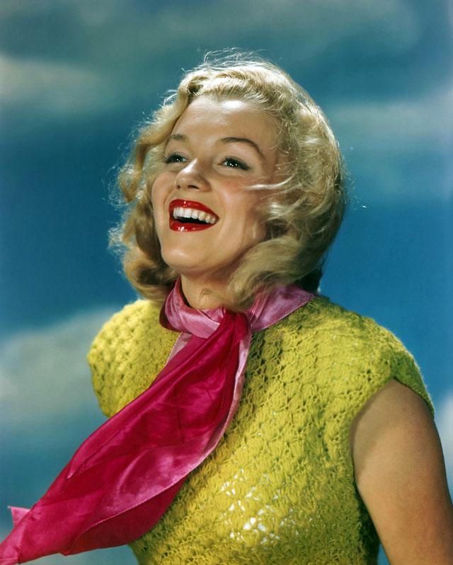 Marilyn Monroe Color Photograph, Circa Late 1940s
