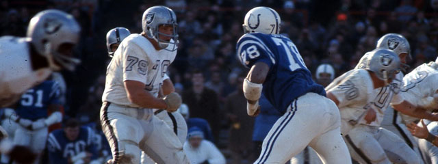 Raiders/Colts in the 1970 AFC Championship Game