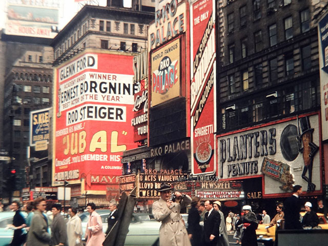 Let's Examine This Vintage 1956 New York City Street Scene Photo