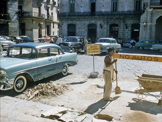 Vintage Slides Depicting Life in Cuba, 1955